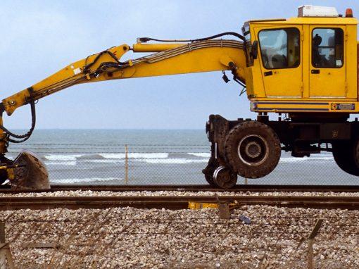 Rails machine banden