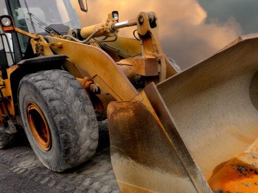 Wheel loader tyres